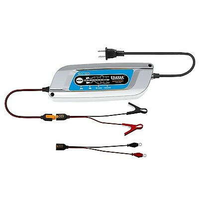 ERAYAK 12V 5A Automatic Car Battery Charger Maintainer for 120Ah Lead-acid Ba...