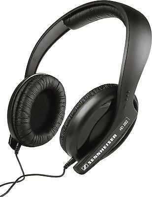 Sennheiser HD 202 II Professional Headphones (Black) Headphones Only