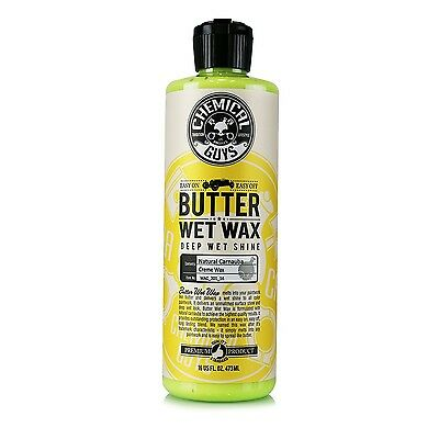 Chemical Guys - Butter Wet Wax Wet Look Shine Car Wax (16 oz) 16 Ounce