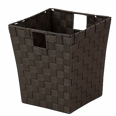 Honey-Can-Do OFC-03702 Double Woven Waste Basket with Handles 10 by 10 by 11-...