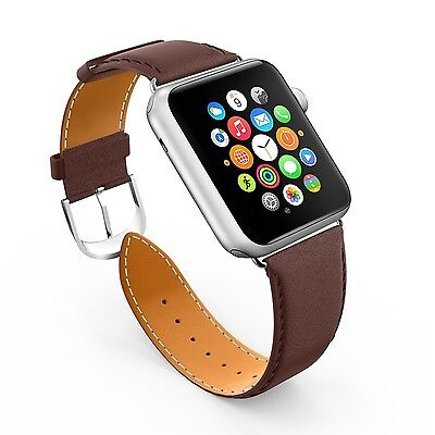Apple Watch Band LoHi 42mm iWatch [100% Genuine Leather] Replacement Watch St...