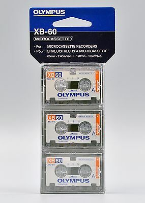 Olympus XB-60 Microcassette 3 Pack