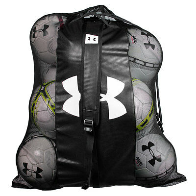 Under Armour UA Sweeper Mesh Ball Bag - Black