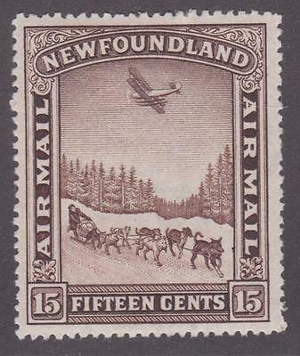 Newfoundland 1931 #C9 Air Mail Pictorial Issue (Dog Sled and Airplane) VF MLH