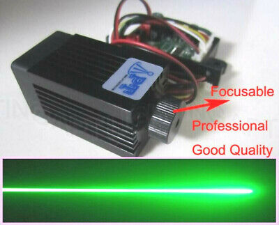 200mW 532nm green laser module + focus TTL continuous work