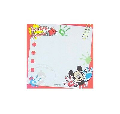 Pretty Disney Mickey Mouse 30 Sheets Notepad/memo Pad/cute Note #f