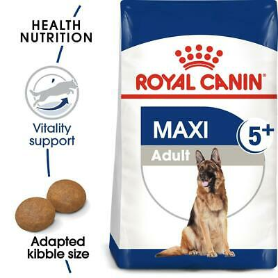 Royal Canin Maxi Adult 5+ Mature Senior Dog Food For Large Breed Dogs 15kg