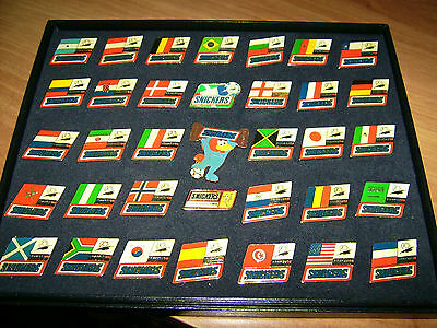36 Snickers Fussball Wm Frankreich 1998 Pin Set Limited Edtion