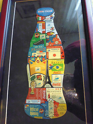 1 Coca Cola Bottle Pin Of The Event Set France World Cup 1998 Im Rahmen