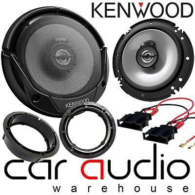 "Skoda Fabia 99-06 MK1 16cm 6.5"" JVC 500 Watts Front Door Car Speakers & Fittings"