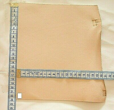 Natural Craft Leather Offcuts 2Mm Thick Veg Tan Tooling Hide Small Pieces