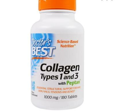 Pure Collageen Type 1 & 3, 1000 mg (180 Tabletten) - Doctor's Best