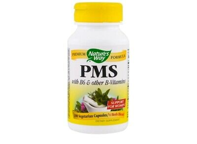 PMS with B6 and Other B-Vitamins (100 Capsules) - Nature's Way