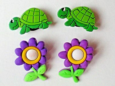 Turtle Butterfly Clog Accessorie For Shoe Charm Wristband Bracelet