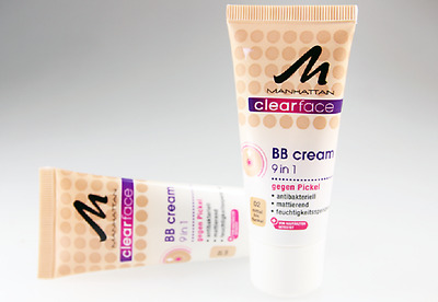 MANHATTAN Clearface 9 in 1 BB Cream ++Farbwahl++ NEU&OVP