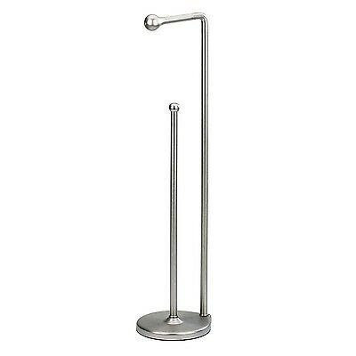 Umbra Teardrop Die Cast Metal Toilet Paper Stand with Reserve