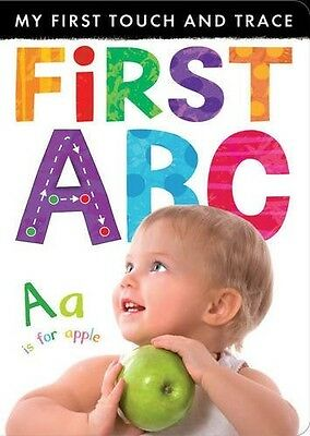 My First Touch and Trace: First ABC Little Tiger Press New Book