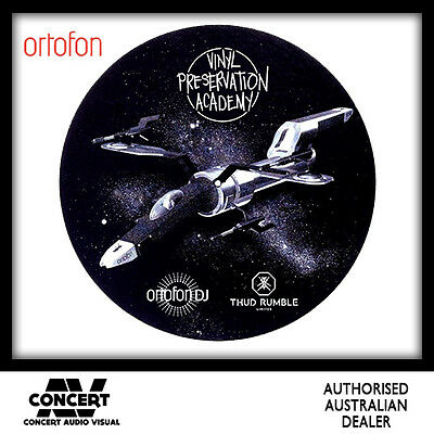 Ortofon Thud Rumble Q-Bert Starship Frosted Butter Rugs (Pair)