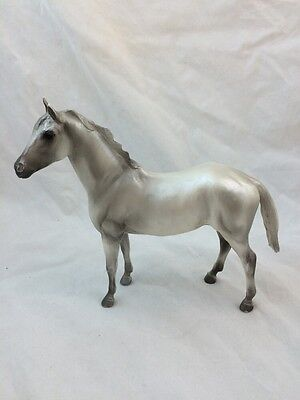 "Breyer HORSE Pony Grey Gray Silver 7"" By 7 1/2"""