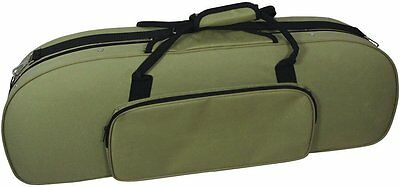 Valentino VIOLIN CASE, Oblong. Lighweight foam case with pockets and straps.
