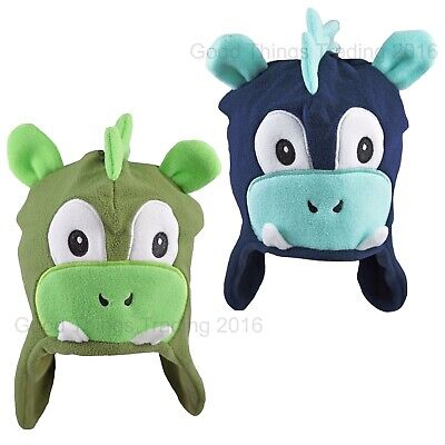 Baby Hat Boys Girls Fleece Monster With Ears Winter Polyester 6-12 12-18 Months