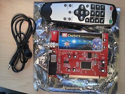 PHILLIPS PCI TV Tuner & Video Capture with Remote Control 7130