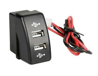 12V/24V Max 3A Dash Dual USB port  Truck DAF XF 95/105 CF Charger Power outlet