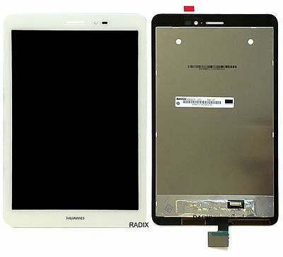 DIGITIZER TOUCH SCREEN GLASS + LCD ASSEMBLY for HUAWEI MEDIAPAD T1 8.0 S8-701U