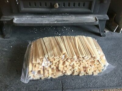 2KG Of Kiln Dried Kindling Wood For Log Burners Firewood  Stoves  Thinly Chopped