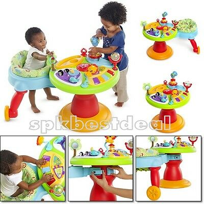 Baby Toddler Walker Around Activity Center Toys Seat Learning Table Station Kids