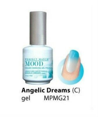 Lechat Mood Color Changing Soak-Off Gel Nail Polish Angelic Dreams #MPMG21