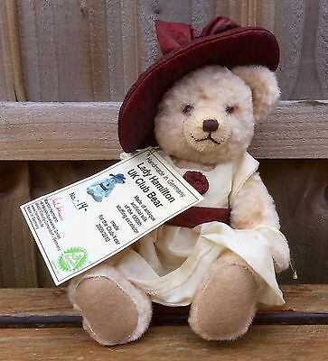 Martin Hermann -Lady Hamilton Club Year Bear 2010- Ltd Ed Collector Mohair Teddy