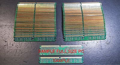 Lot of 1 lb Scrap Gold Fingers RAM DDR2 Low Profile Computer Gold Recovery
