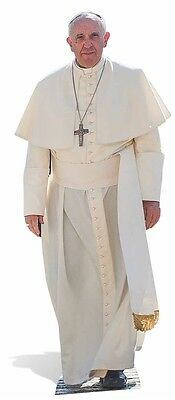 Pope Francis Lifesize Cardboard Cutout / Standee / Stand Up catholic religion