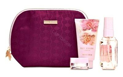 NEW Ted Baker Little & Lovely Bag Body Spray Hand Cream Lip Balm Gift