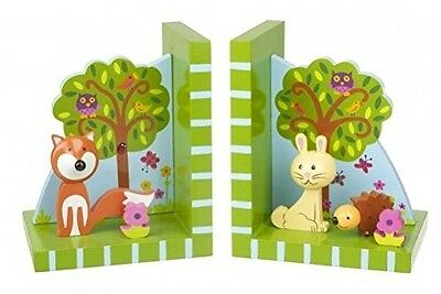 Orange Tree Toys Woodland Friends Bookends