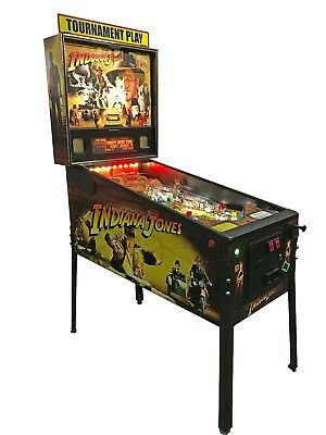 Indiana Jones  Pinball Machine -  By Stern 2008