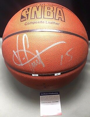 Vince Carter Signed Autographed Basketball PSA/DNA Authenticated