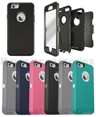 NEW Defender Case for Apple iPhone 7 & 7 Plus Rugged Case Cover With Belt Clip