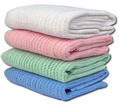100% Cotton Cellular Blanket *** 50% Off