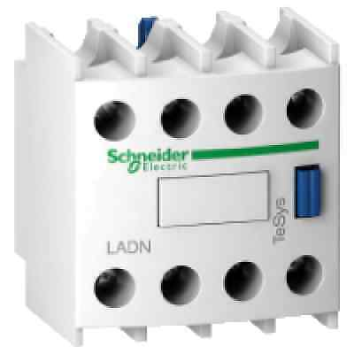 Schneider Electric Auxiliary Contact Block 10 Amp  LADN13 1 NO 3NC