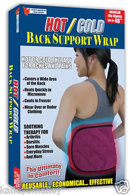 North American Healthcare Hot/Cold Back Support Wrap