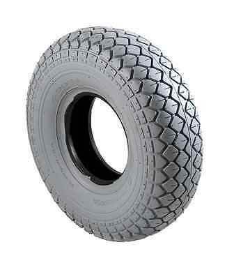 *NEW* 400-5 (330-100) Mobility Scooter Tyres Grey Block