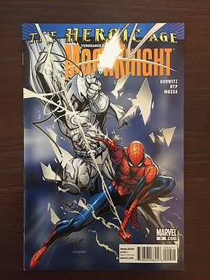 Vengeance Of Moon Knight #9 Campbell Cover Marvel Comics (2010) Spider-Man