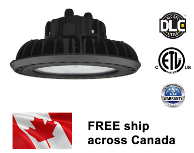 150W 347V LED High Bay UFO Light Fixture replace 400MH DLC