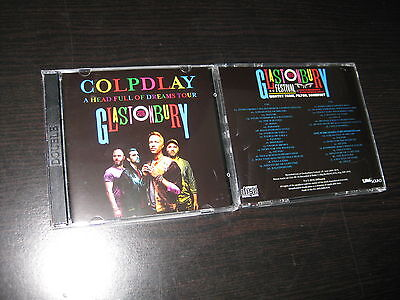 Coldplay 2 Cd A Head Full Of Dreams Tour Glastonbury