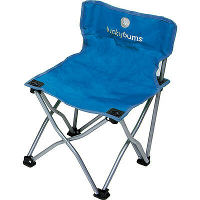 Lucky Bums Kids Camp Chair - Blue Outdoor Accessorie NEW