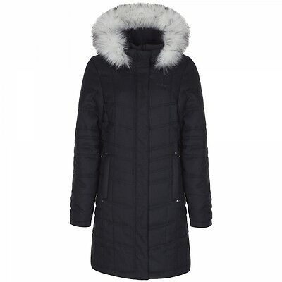 Craghoppers Ladies Womens Padded Warm Winter Kilnsey Coat Jacket in Charcoal