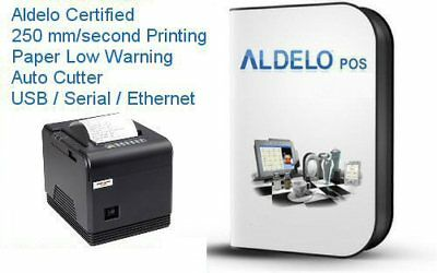 Aldelo Pos Pro Complete Restaurant Software - Very Fast Thermail Printer