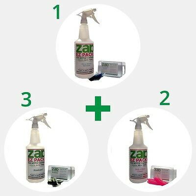 GREAT VALUE! EZ ZAP Eco Green Home Cleaning Kit 288 oz FREE SHIPPING! USA MADE